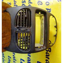 Moldura Painel Peugeot 206 02-10 1 Din Preto Original