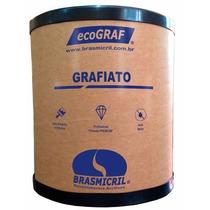 Grafiato Branco Premium - 25 Kg - Textura Rústica