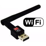 Adaptador Usb Wifi 900mbps Real Sem Fio Lan B/g/n Antena