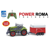 Trator De Controle Remoto Power Roma Haras 1765 -roma-