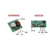 Módulo Rf Transmissor Receptor 433mhz Arduino Pronta Entrega