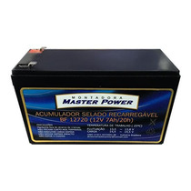 Bateria Selada 12v 7a Recarregável P/ Alarme Ou Cerca Elétr