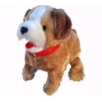 Cachorro Cachorrinho Pula Anda Brinquedo Pelúcia Late