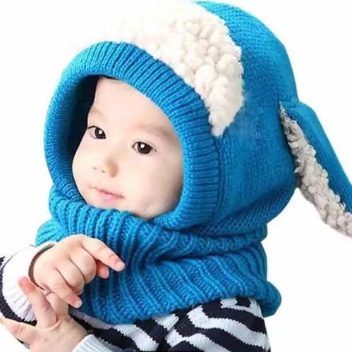 Touca Gola Bebê Infantil Tipo Cachecol Quentinha Ovelhinha A - R  52 ... 215ad21d3fd