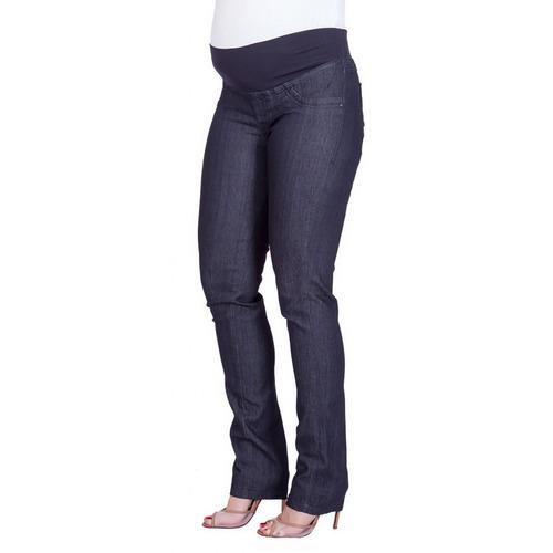 Calça Jeans Gestante Reta Clara