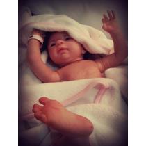 Boneca Bebê Reborn Gaby Corpo Inteiro Vinil Siliconado