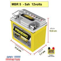 Bateria Mbr 5 - 5ah Moto -titan 125 Fan Biz 100 Cargo Honda