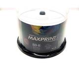 50 Bluray Maxiprint Printable 25gb. 6x