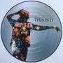 Michael Jackson - This Is It - Lp Picture Disc Novo Raro