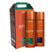 Escova Progressiva Kerasoft Kit Keraliss 2x1 Itallian Color