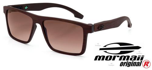 Óculos De Sol Mormaii Banks M0050j473 Marrom Madeira Fosco 73d3142a86