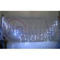 Cascata Pisca Pisca Led Branco Natal 100 Lampadas Luz Festa