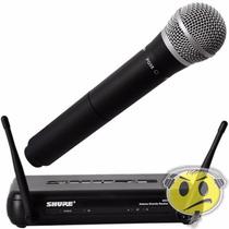 Microfone Shure Sem Fio Svx24br-pg58 Loja Credenciada