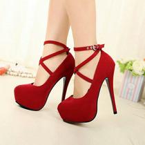 Sapato Salto Alto Importado