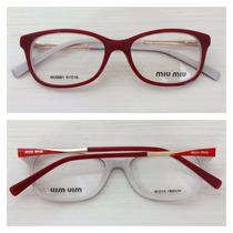 Armação Óculos De Grau Acetato Feminino Mu0081