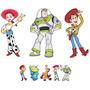 8 Display Toy Story, Totem De Chão Lindos