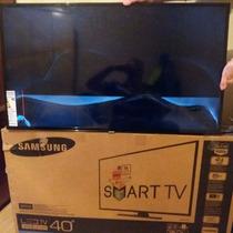 Smart Tv Samsung 40 Led Nova Tela Quebrada