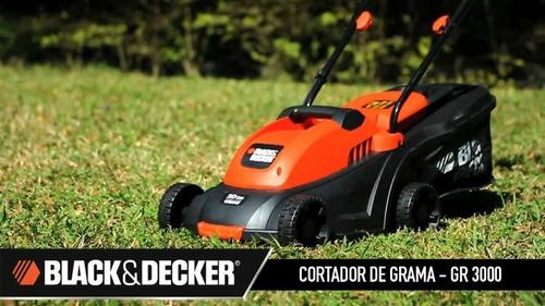 Cortador De Grama 1000w Gr3000 Black&decker
