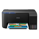 Impressora A Cor Multifuncional Epson Ecotank L3110 110v/220v Preta