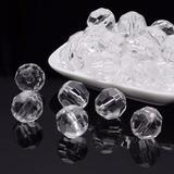 Pedraria Cristal Facetado Acrílico Melhor Preço 10mm Ou 12mm