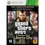 Gta Iv: The Complete Edition - Xbox 360 Midia Fisica
