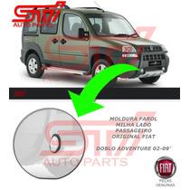 Moldura Aro Farol Milha Fiat Doblo Adventure 02-09 Original