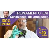Curso De Sanitização De Ambientes 100% Online.