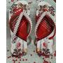 Chinelo Personalizado Dia Das Mães Com Perolas