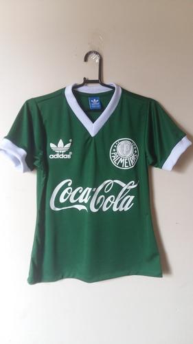 Camisa Retrô Palmeiras Coca-cola Fem. - Colecionador Retrô 7f17e27dbf388