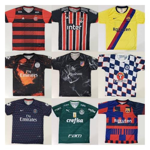 6b63951e96fb2 10 Camisetas De Time Atacado Futebol 100 Modelos Raynstore®