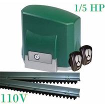 Kit Motor Para Portão Automático Desliz. Seg 110v* Ou 220v*