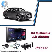 Multimidia Nissan Versa 2014 Pioneer 5880 Dvd Tv Bluetooth