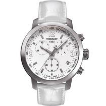Relógio Tissot Branco Unissex Original Garantia E Sem Juros.