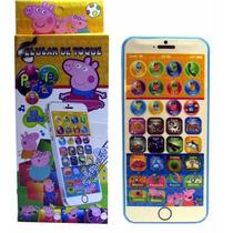 Celular Infantil Iphone Galinha Pintadinha Peppa Pig