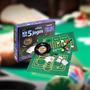 Kit C/5 Jogos Roleta Baralho Poker Cartas Dados Diversão