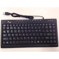 Teclado Mini Multimídia Standard C/ Fio Usb Kp-2013