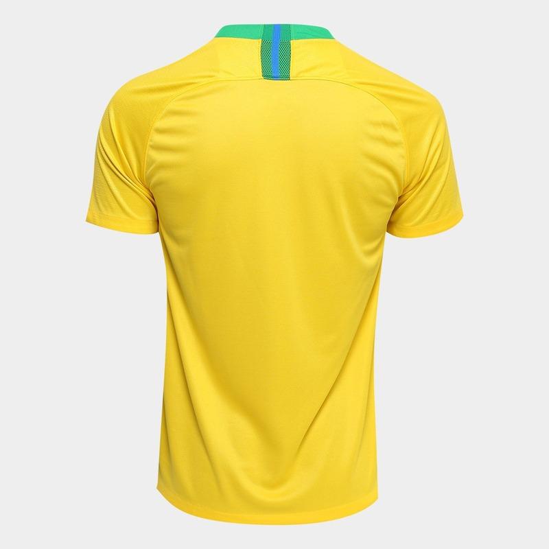 Camisa Brasil Copa Do Mundo 2018 100% Original em Congonhas - MG ... f34c5381e93f9
