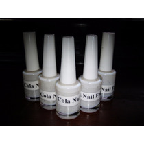 1 Frasco 10ml Cola P/ Nail Foil