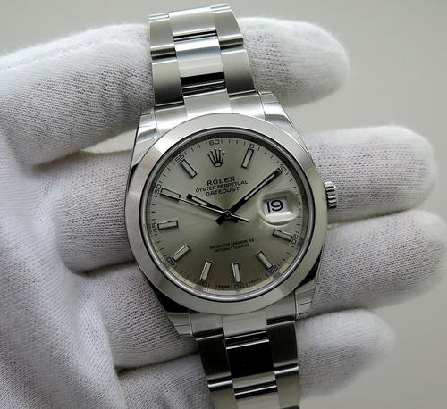 f000f648a87 Relógio Rolex Datejust Steel Com Caixa E Papeis Rolex +frete. R  1199