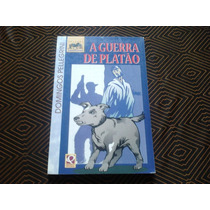 Livro A Guerra De Platão - Domingos Pellegrini.