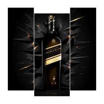 Bebida Double Black: Adesivo Geladeira Envelopamento Total