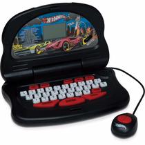 Laptop Hot Wheels Fast Machine 30 Atividades Candide