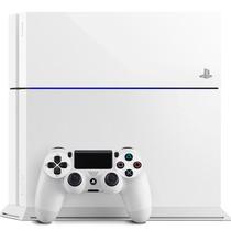 Playstation 4 Branco Ps4 500gb + Hdmi+ Blu-ray 3d + Controle