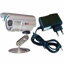 Camera Ccd Digital Infra Vermelho 24 Leds 30mts 700 Linhas