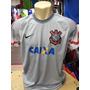 Camisa Do Corinthians Cinza Goleiro Cassio