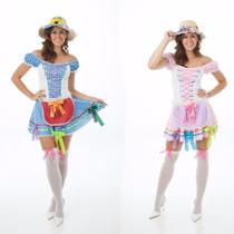 Vestido Festa Junina Mãe E Filha Caipira,junino,2 Vestidos
