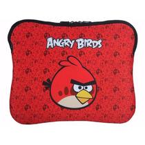 Case Capa Porta Notebook 14 Santino Angry Birds Neoprene