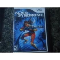 Jogo Nitendo Wii Alien Sydrome Produto Usado