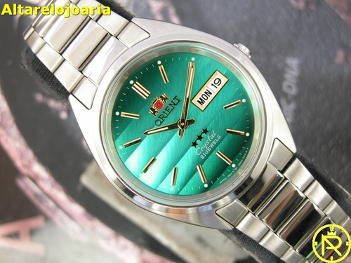 6203e105ae1 Comprar Relógio Orient Clássico Automático 3 Estrelas Fab00007f9 ...