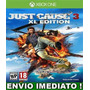 Just Cause 3 Xl Edition  Aluguel 5 Dias Xbox One